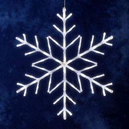 Dezente Schneeflocke, 60 LEDs für Außen,tageslicht