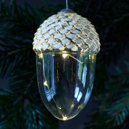 Höhe 13 cm - mundgeblasene LED-Dekoleuchte Celina