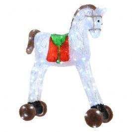 Hübsche LED-Leuchtfigur Spielzeugpferd, 57 cm
