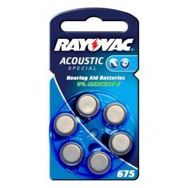 Rayovac 675 Acoustic 1,4V, 640m/Ah Knopfzelle