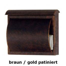 Briefkasten TORES braun / gold patiniert