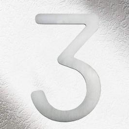 Hochwertige Hausnummern aus Edelstahl 3