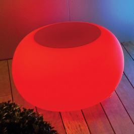 BUBBLE Outdoor LED Tisch  RGB + Filz rot