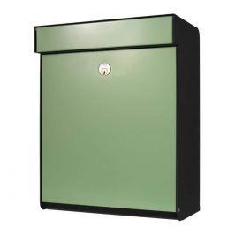 Grüner Briefkasten Grundform