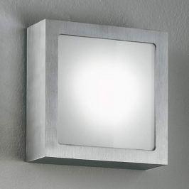 LED-Wandleuchte Ray aus Alu mit Glasabdeckung