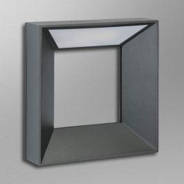 Innovativ gestaltete LED-Außenwandleuchte Grigori
