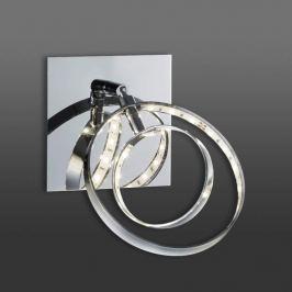 Ringförmiger LED-Wandstrahler Prater mit Schalter