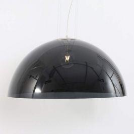 Schwarze Hängeleuchte Skylight Dome