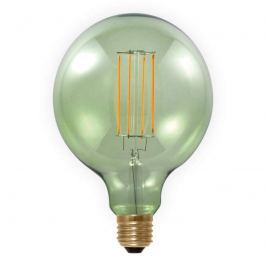 E27 6W 920 LED-Globelampe smokey green
