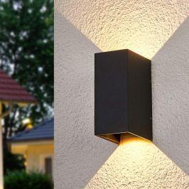 Zweiseitig leuchtende LED-Wandlampe Kimian, außen