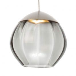 Mit Glasschirm - LED-Hängelampe Soft schwarz 15 cm