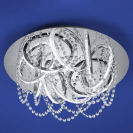 B-Leuchten Sissi LED-Deckenleuchte, chrom