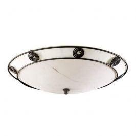 Rustic - dekorative Deckenlampe mit Zierrand