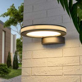 Robust gearbeitete LED-Wandleuchte Tamias f. außen
