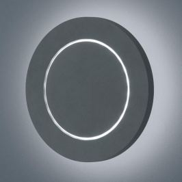 Helestra Fogo - LED-Außenwandleuchte, rund