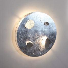 Knikerboker Buchi - silberfarbene LED-Wandleuchte