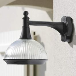 Ästhetische Außenwandlampe Boléro 2 schwarz