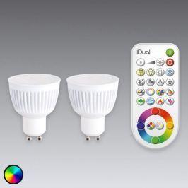 GU10 iDual LED-Lampe 2er mit Fernbedienung