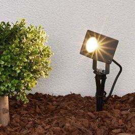 Erdspießleuchte Jiada mit LEDs