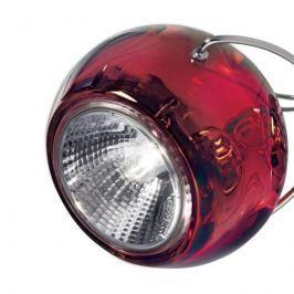 Fabbian Beluga Colour - Hängeleuchte, rot