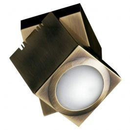 Altmessingfarbener Deckenspot Praktyk LED