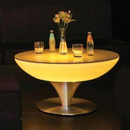 Runder Leuchttisch LOUNGE Table Indoor 45 cm