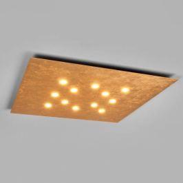 ICONE Slim - LED-Deckenleuchte 12-fl. blattgold