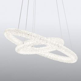 Funkelnde LED-Pendellampe Circle, rund
