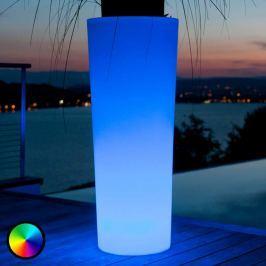 Beleuchteter LED-Blumentopf Tango 110 cm