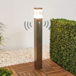 Sensor-LED-Wegelampe Baily aus Edelstahl