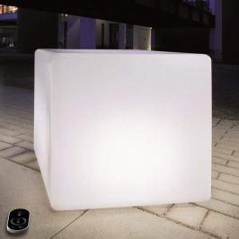 Dimmbarer Würfel mit LEDs und Akku, 35 cm
