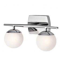 2-flg. LED-Bad-Wandleuchte Jasper in edlem Design
