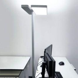 Office-LED-Stehlampe Aila, Tageslichtsensor