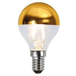 E14 1,8W 827 LED-Kopfspiegellampe gold