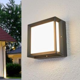 Bega - eckige LED-Außenwandleuchte Duran - IP65