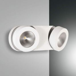 Dimmbare LED-Wandleuchte Hella mit 2 Spots