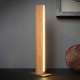Sytze - moderne LED-Tischleuchte aus Holz