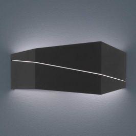 Zorro - moderne LED-Wandlampe, schwarz matt, 40 cm