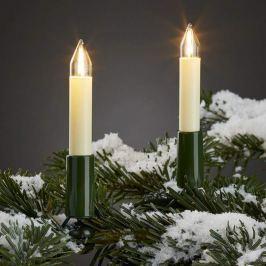 Außen-Lichterkette m. LED-Filament-Kerzen 20 fl