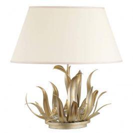 Stilvolle Tischlampe Anatra mit Textilschirm