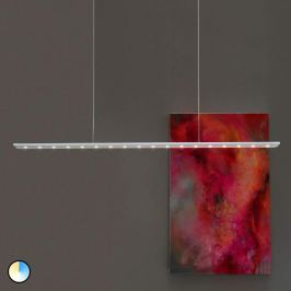 Anax CC - Farbwechsel-LED-Hängeleuchte satiniert