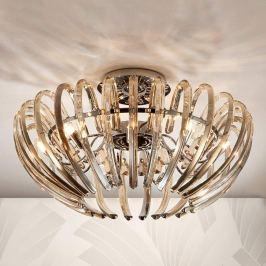 Exquisite Kristall-Deckenleuchte Ariadna champagne