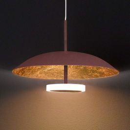Zweifarbig gestaltete LED-Hängeleuchte Pierre