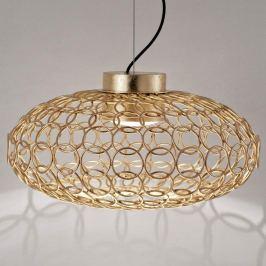 Terzani G.R.A. - ovale Designer-Hängeleuchte, gold