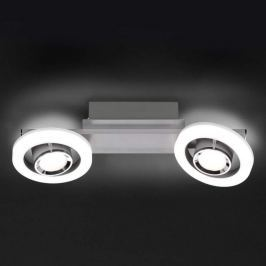 Futuristische LED-Deckenlampe Detroit m. Dimmer