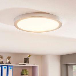 Runde LED-Deckenleuchte Solvie in Silber