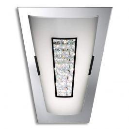 Verspiegelte LED-Wandleuchte Laila