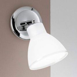Dreh- und schwenkbare Wandlampe Campana chrom