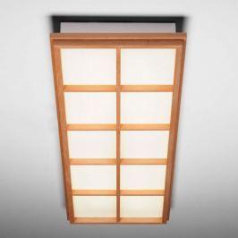 Deckenleuchte Kioto 10 aus Buchenholz