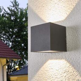 Auf- und abwärts leuchtende LED-Wandleuchte Merjem
